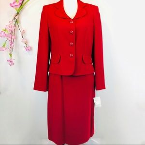 NWT Red Suit Size 6